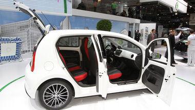 Skoda Citigo, Viertürer, Autosalon Genf 2012, Messe