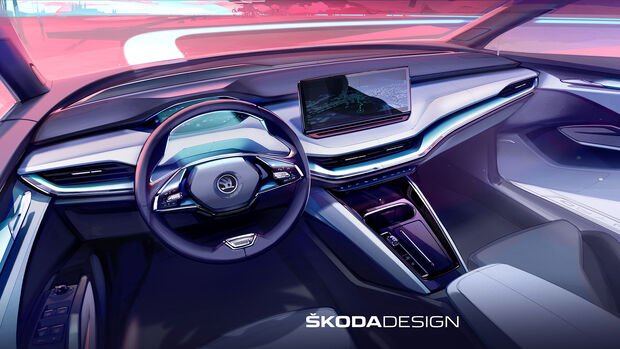 Skoda Enyaq Cockpit