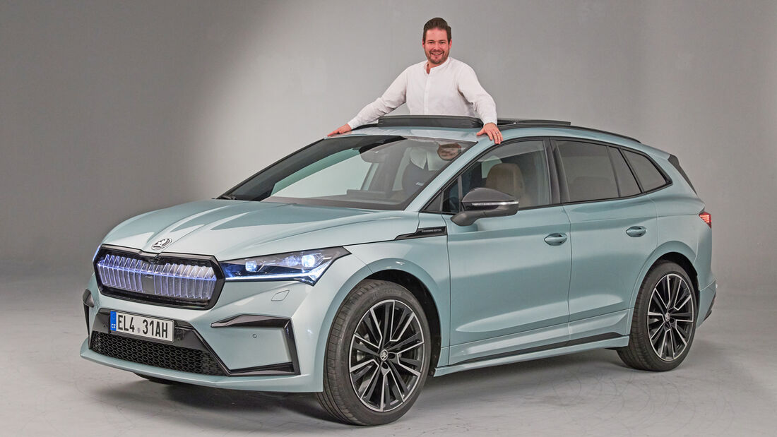 Skoda Enyaq Erster Check Founders Edition