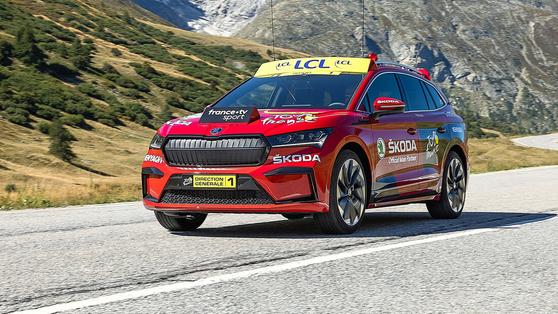 Skoda Enyaq iV, Tour de France 2020