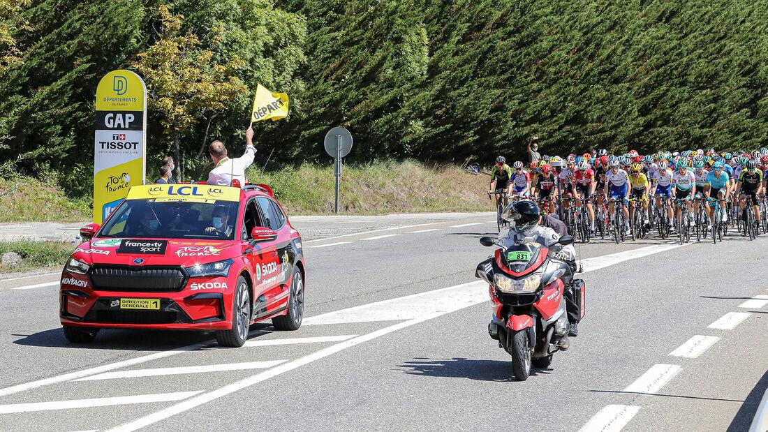 Skoda Enyaq iV, Tour de France 2020
