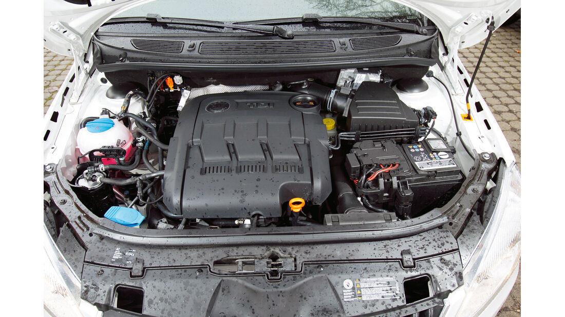 Skoda Fabia 1.2 TDI, Motor