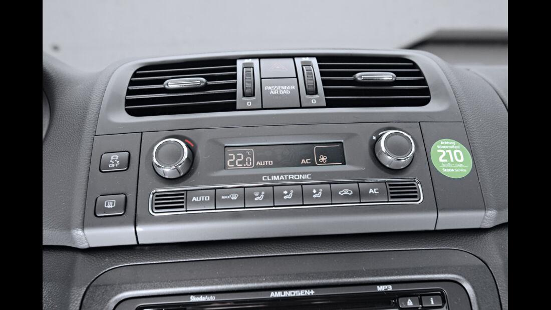Skoda Fabia 1.2 TSI, Klimaautomatik