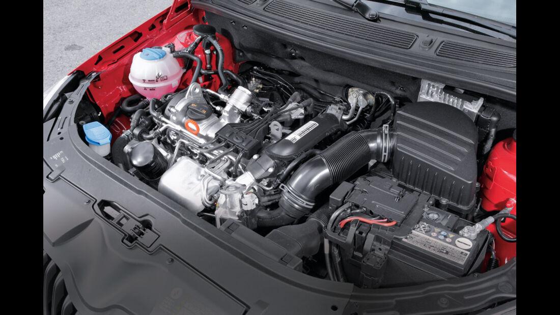 Skoda Fabia 1.2 TSI, Motor, Detail