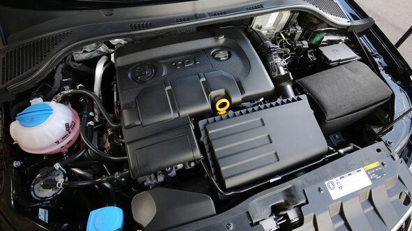 Skoda Fabia 1.4 TDI, Motor