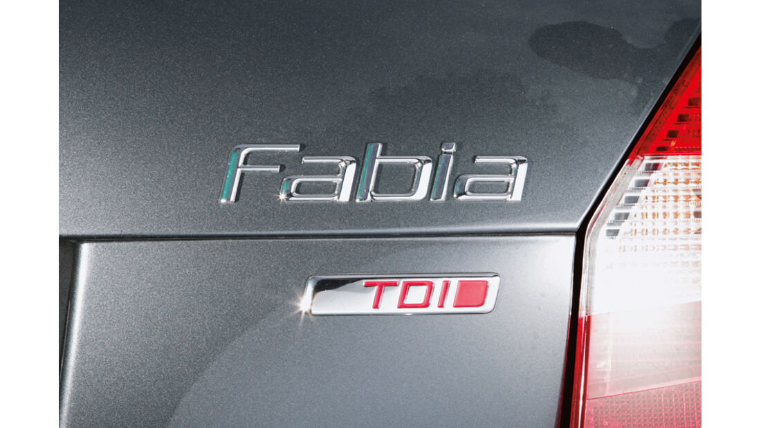 Skoda Fabia 1.6 TDI, Detail