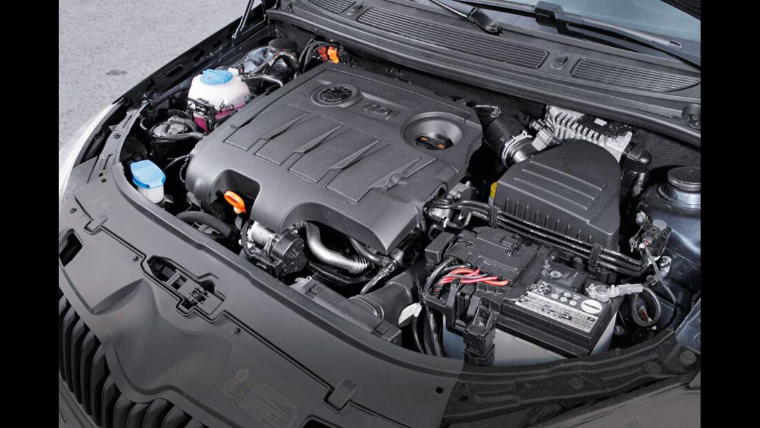 Skoda Fabia 1.6 TDI, Motor, Detail