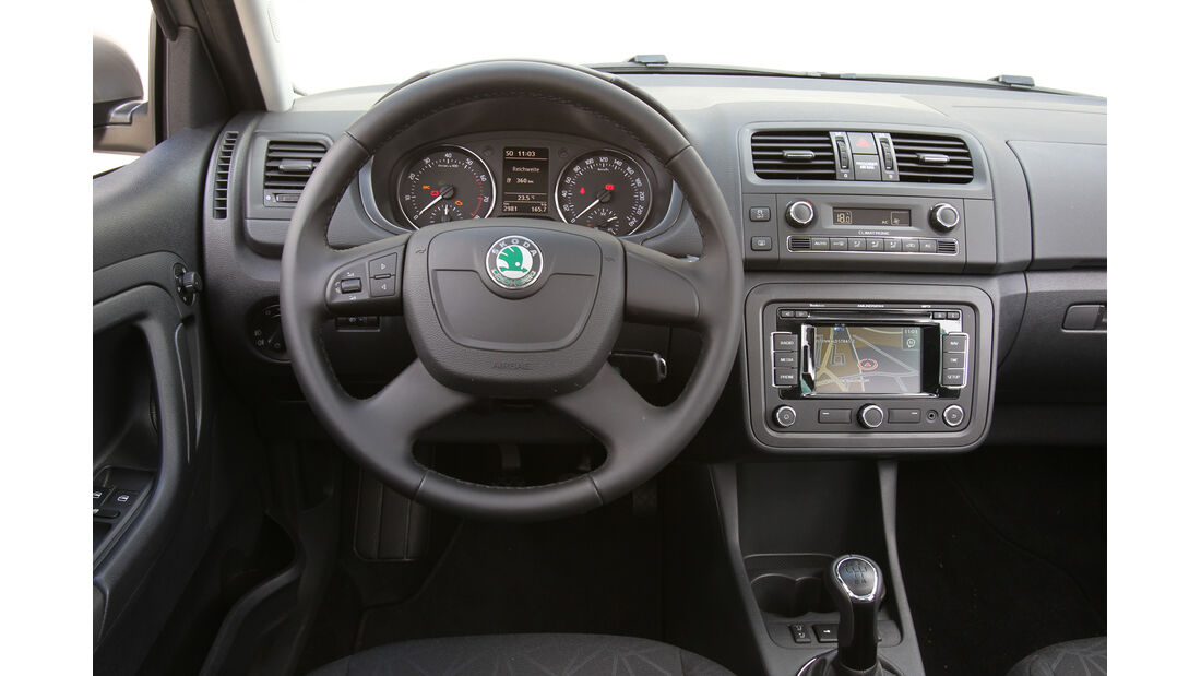 Skoda Fabia, Cockpit