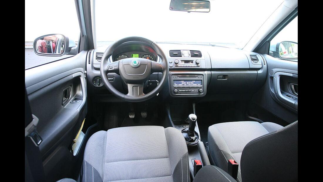 Skoda Fabia Combi, Cockpit