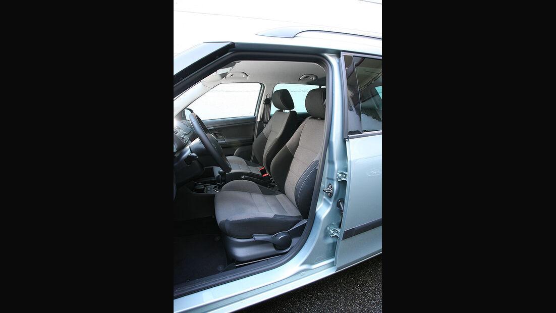 Skoda Fabia Combi, Fahrersitz