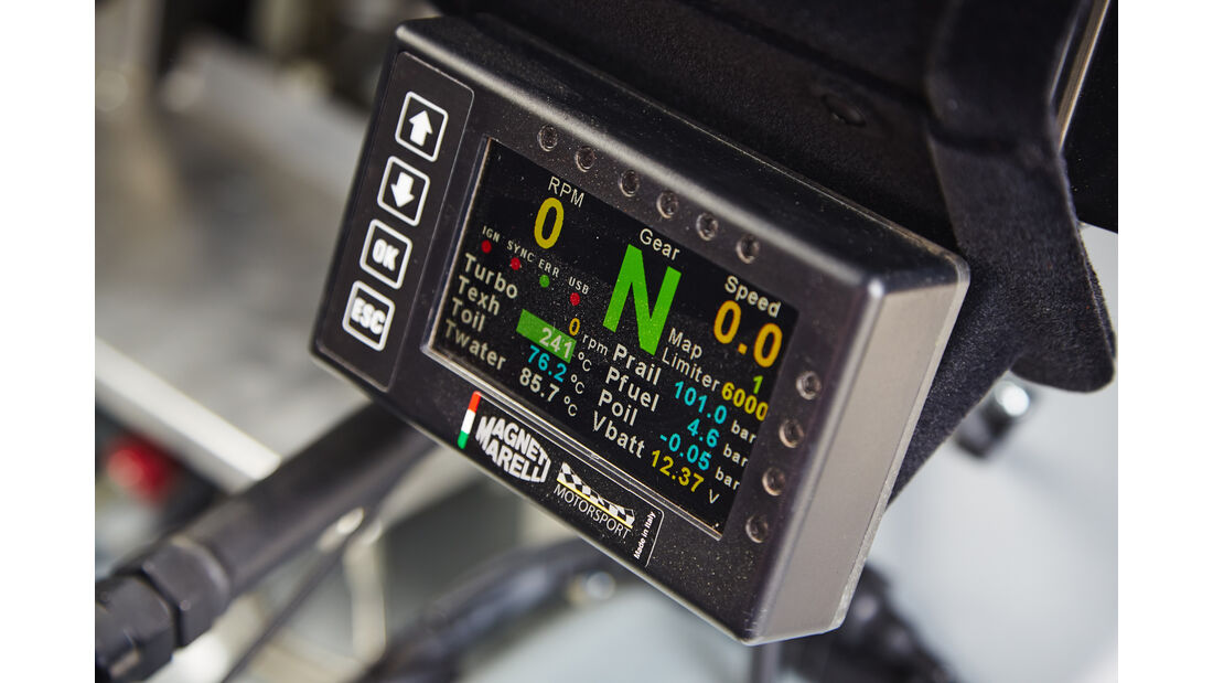 Skoda Fabia R5 Combi, Anzeigeinstrument
