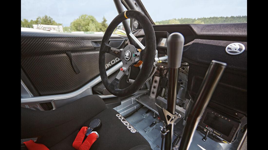 Skoda Fabia R5 Combi, Cockpit