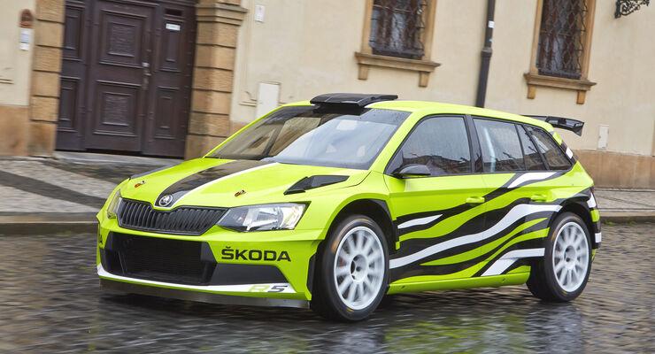 Skoda Fabia R5 Combi, Seitenansicht