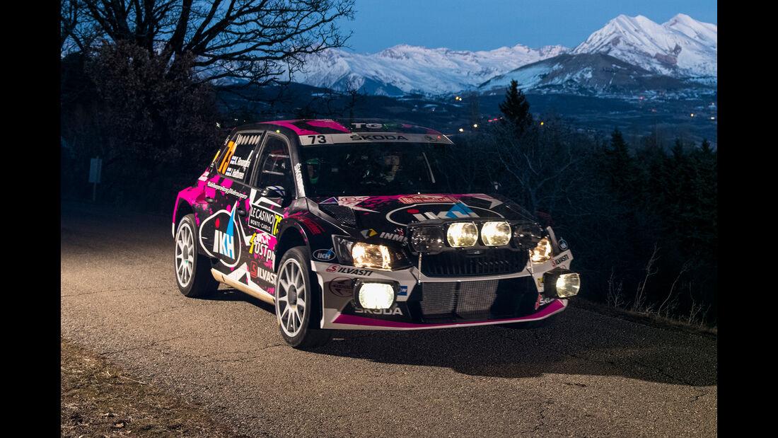 Skoda Fabia R5 - Rallye Monte Carlo 2018