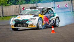 Skoda Fabia RE-X1 Kreisel - Elektro-Rallyeauto - ÖRM - 2021
