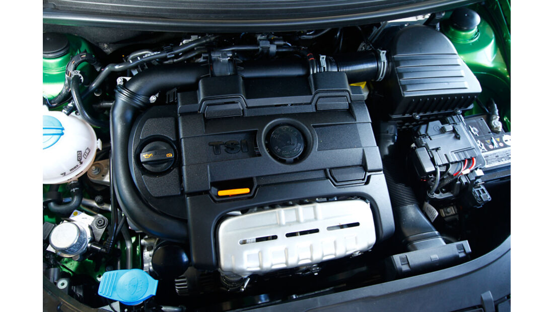 Skoda Fabia RS, Motor