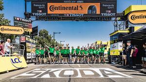Skoda Gewinnspiel, Tour de France