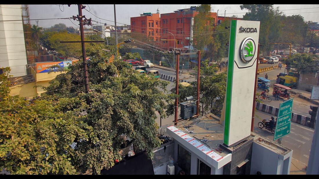 Skoda Händler Neu-Delhi