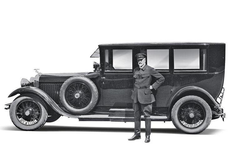 Skoda Historie, Skoda Hispano Suiza 25/100 PS