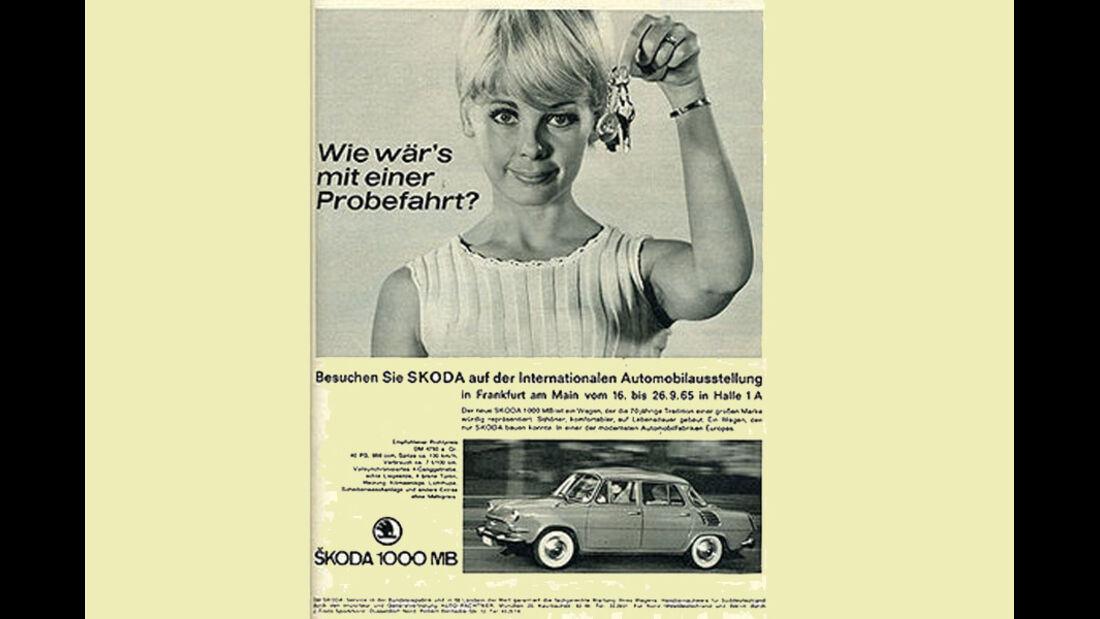 Skoda, IAA 1965