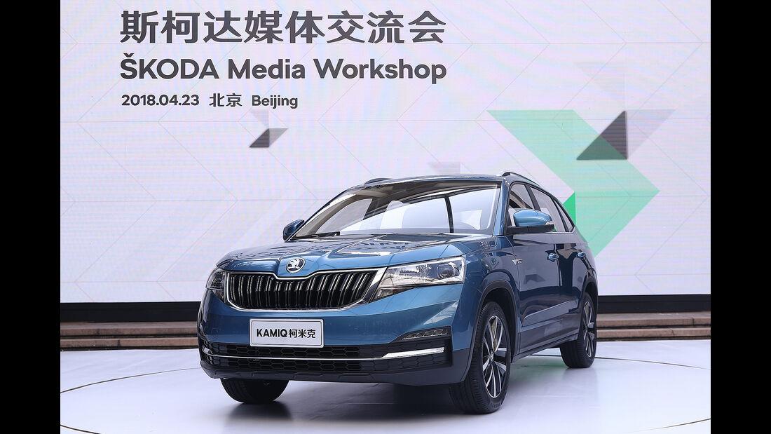 Skoda Kamiq 2018 SUV China