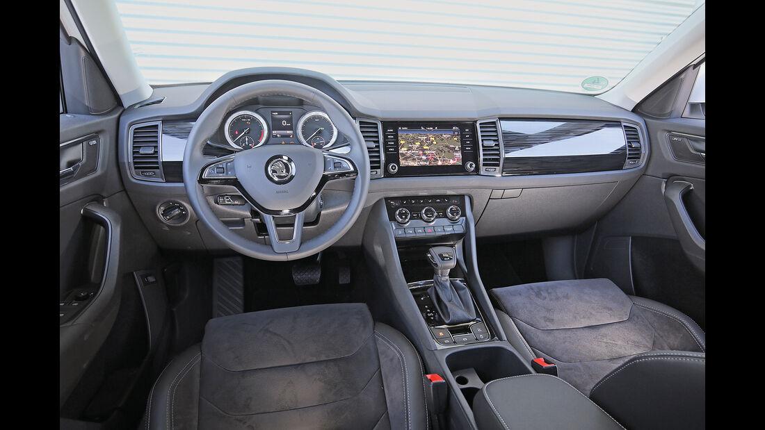 Skoda Kodiaq 2.0 TDI 4x4, Cockpit