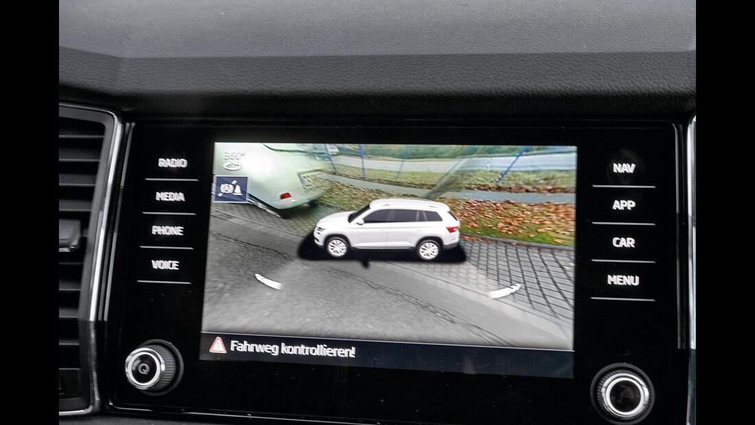 Skoda Kodiaq 2.0 TSI 4x4, Rückfahrkamera