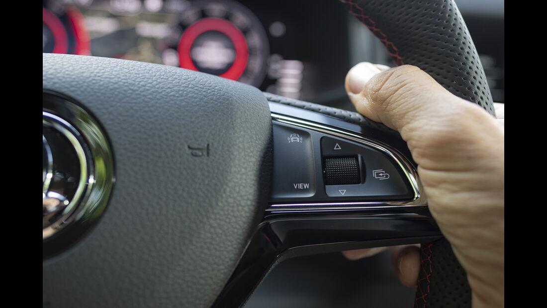 Skoda Kodiaq RS, Lenkrad