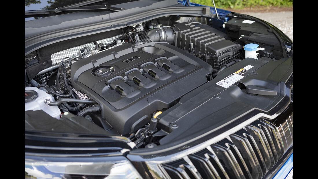 Skoda Kodiaq RS, Motor