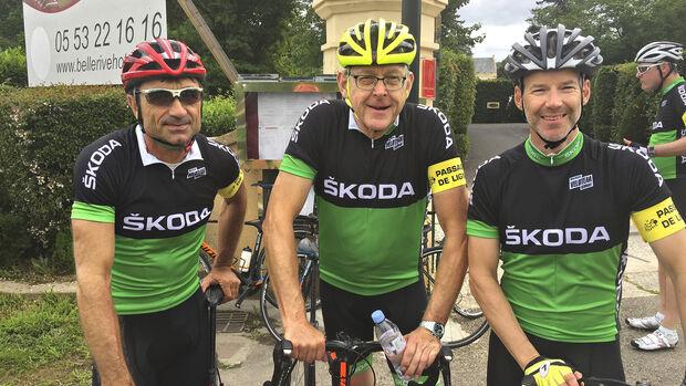 Skoda-Leseraktion, Tour de France
