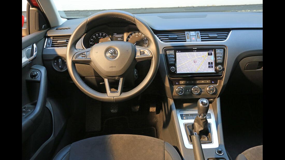 Skoda Octavia 1.6 TDI, Cockpit