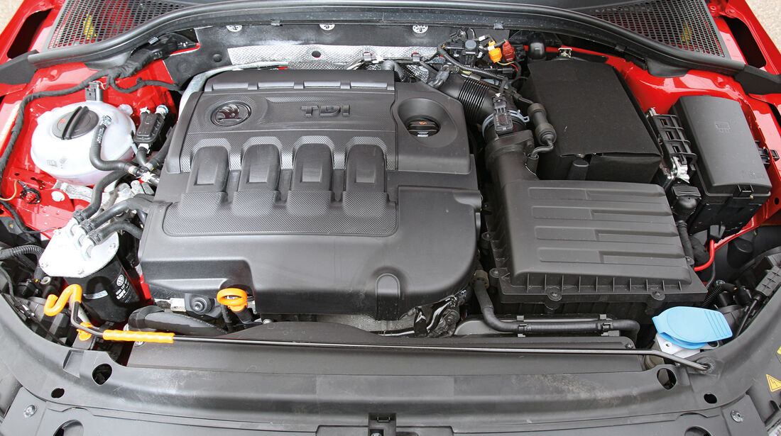 Skoda Octavia 1.6 TDI, Motor