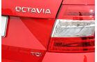 Skoda Octavia 1.6 TDI, Typenbezeichnung, Heckleuchte