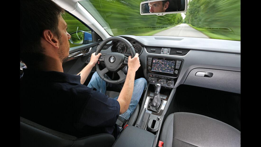 Skoda Octavia, Cockpit