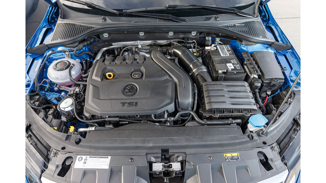 Skoda Octavia Combi 1.5 TSI ACT Style, Motorraum