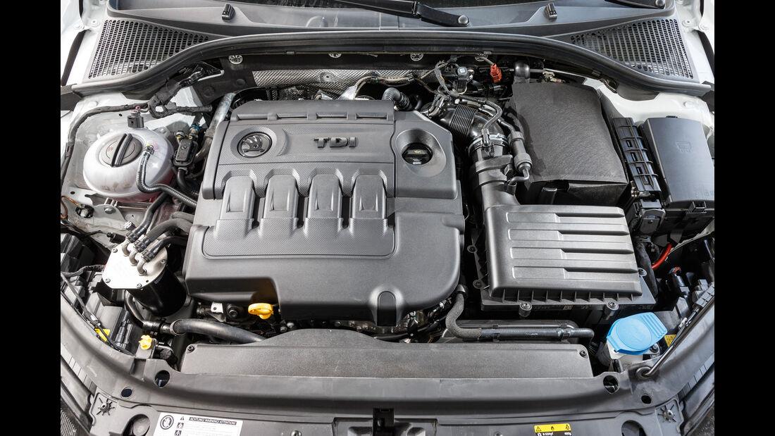 Skoda Octavia Combi 2.0 TDI 4x4, Motor