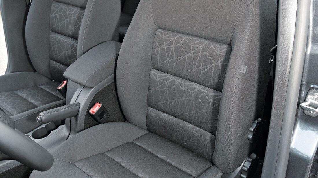 Skoda Octavia Combi 2.0 TDI Family, Fahrersitz