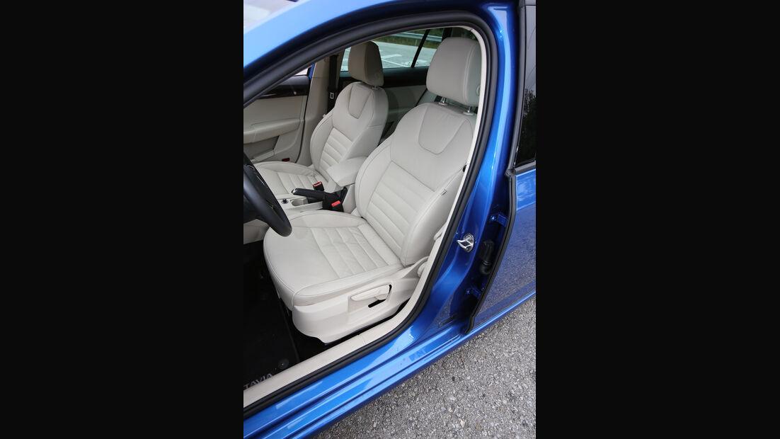 Skoda Octavia Combi, Fahrersitz