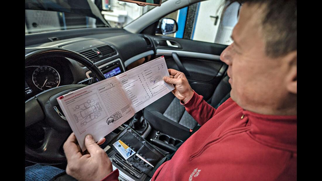 Skoda Octavia Combi, Gebrauchtwagen-Check, asv0518