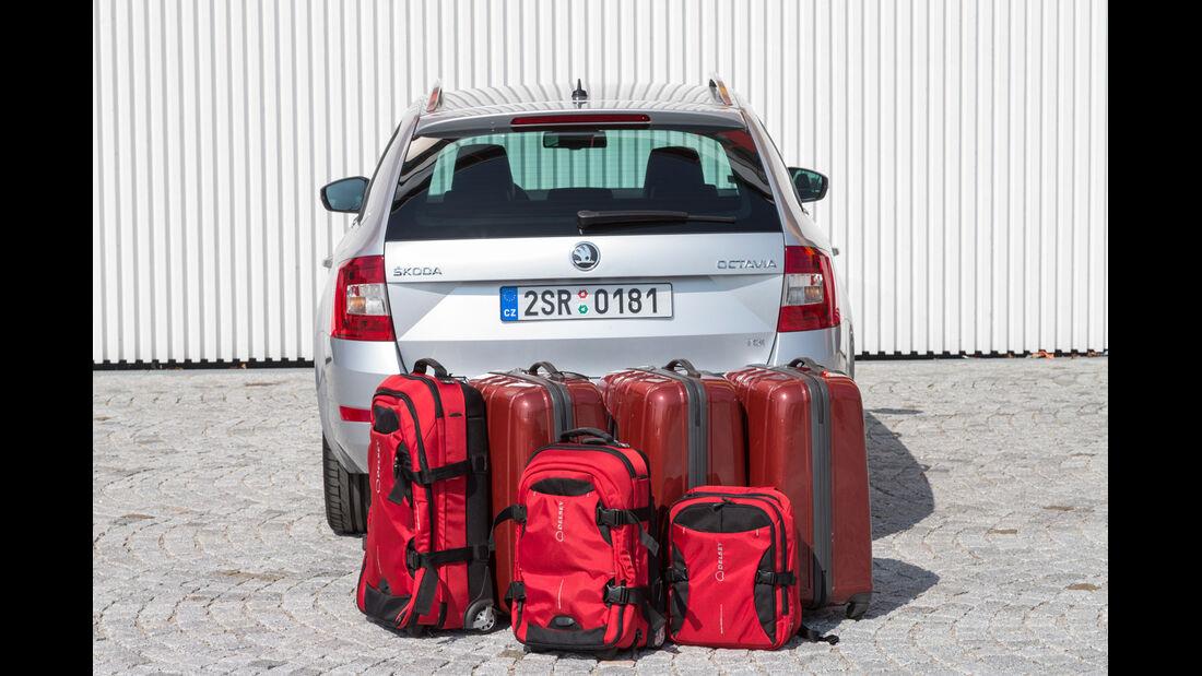 Skoda Octavia Combi, Kofferraum, Gepäck