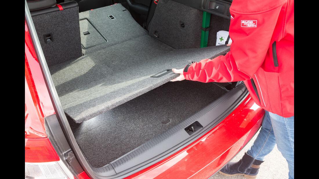 Skoda Octavia Combi RS 2.0 TDI 4x4, Kofferraum