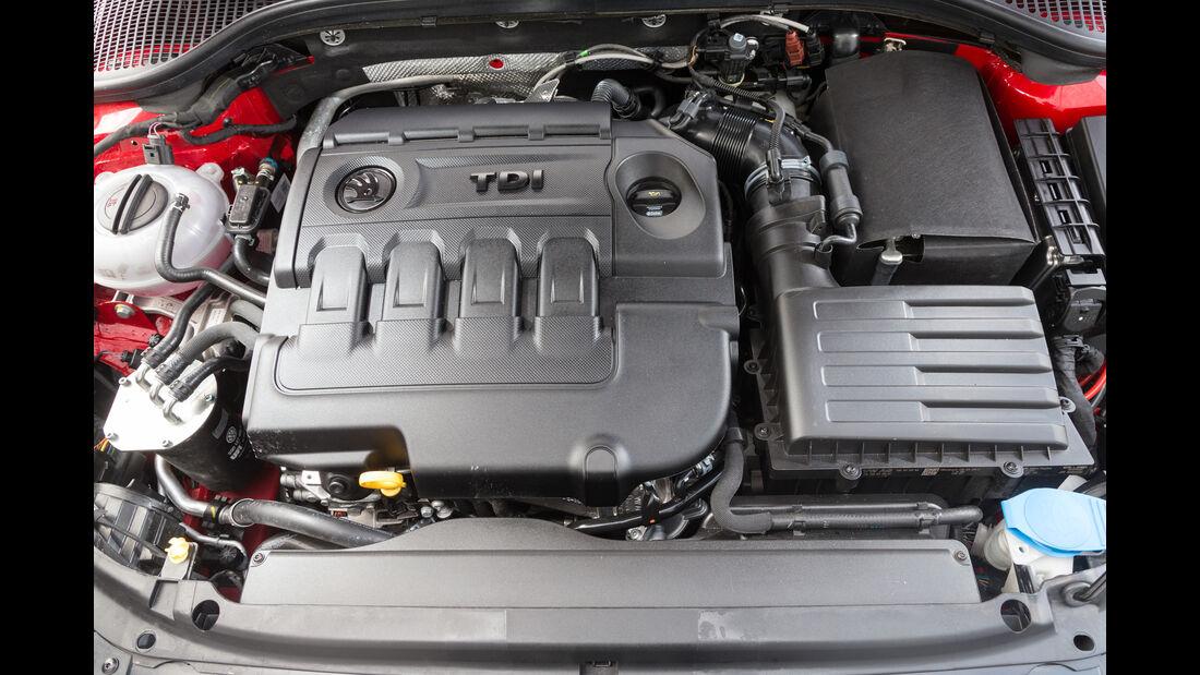 Skoda Octavia Combi RS 2.0 TDI 4x4, Motor