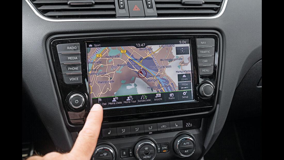 Skoda Octavia Combi RS 2.0 TDI 4x4, Navi