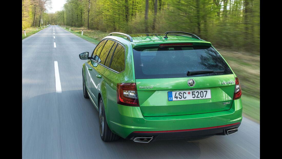 Skoda Octavia Combi RS Facelift Fahrbericht