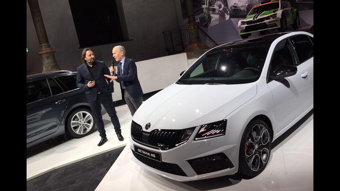 Skoda Octavia Facelift 2017 Weltpremiere Wien