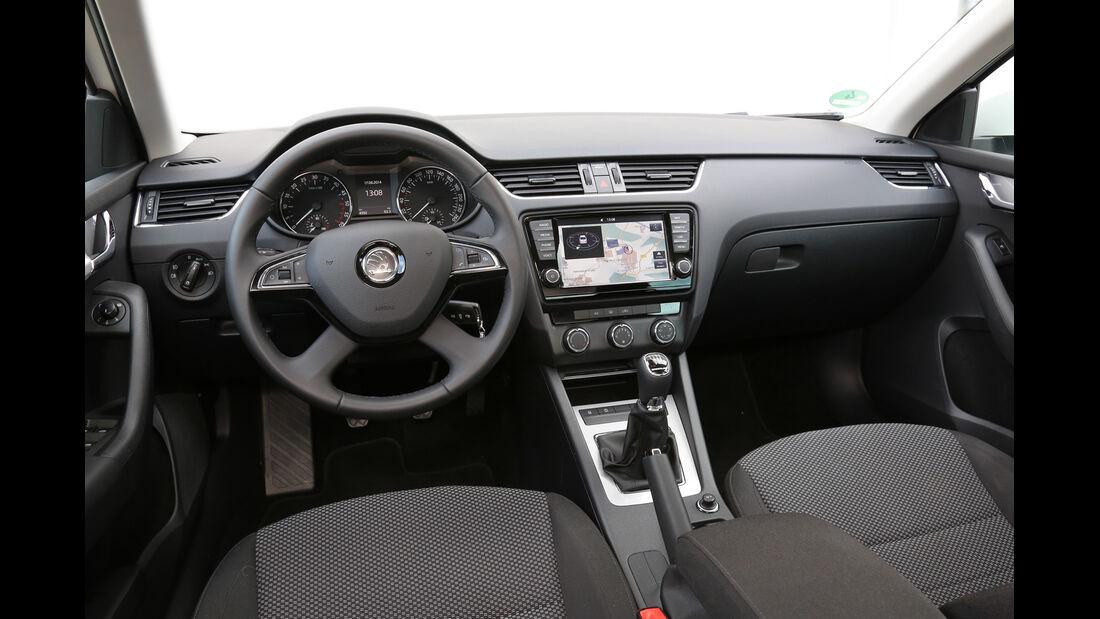 Skoda Octavia Greenline, Cockpit