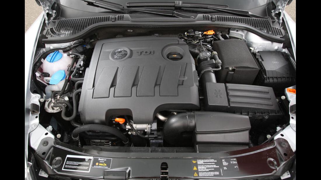 Skoda Octavia Kaufberatung, Motor, 1.6 TDI