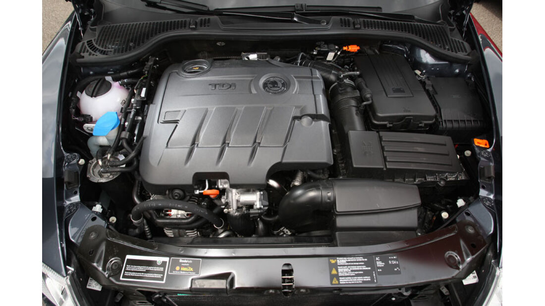 Skoda Octavia Kaufberatung, Motor, 2.0 TDI