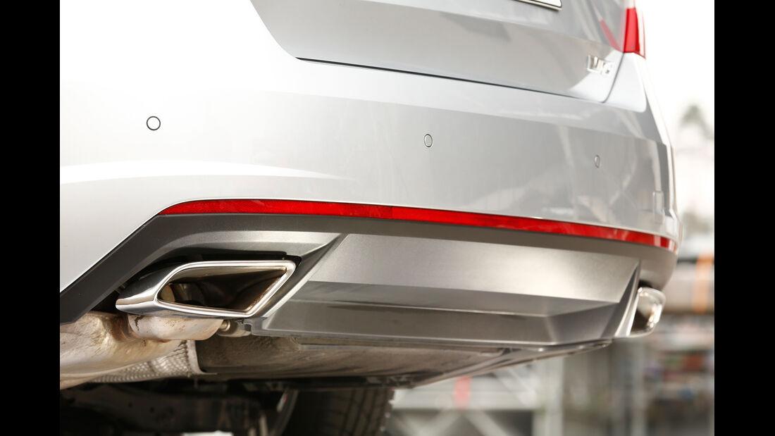 Skoda Octavia RS 2.0 TDI, Endrohre