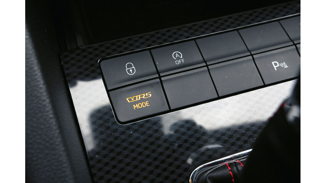 Skoda Octavia RS, Bedienelemente